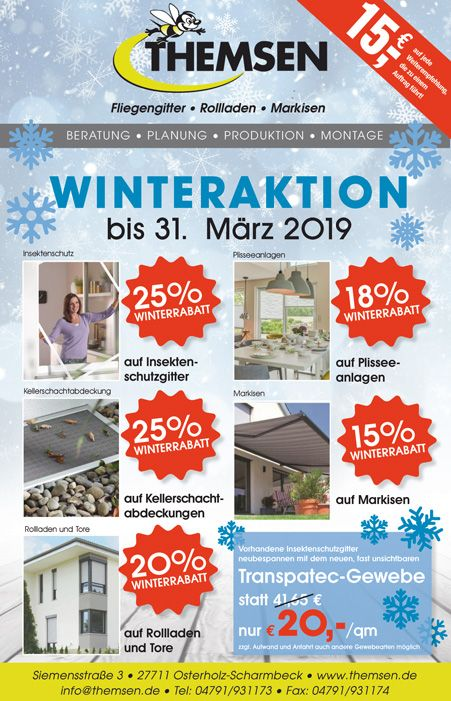 Themsen OHG Winteraktion